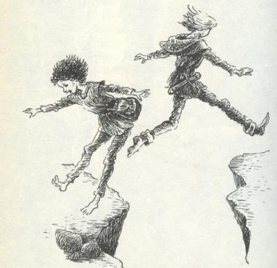 Ronia jumping